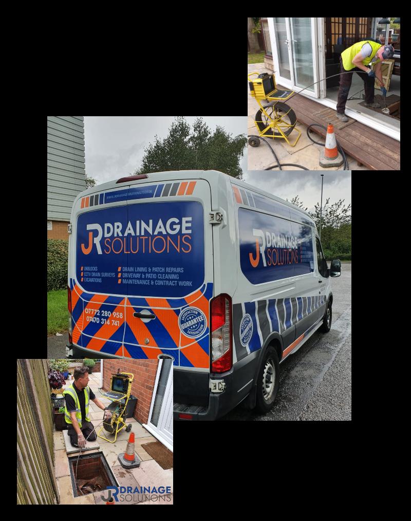 JR Drainage Solutions Van